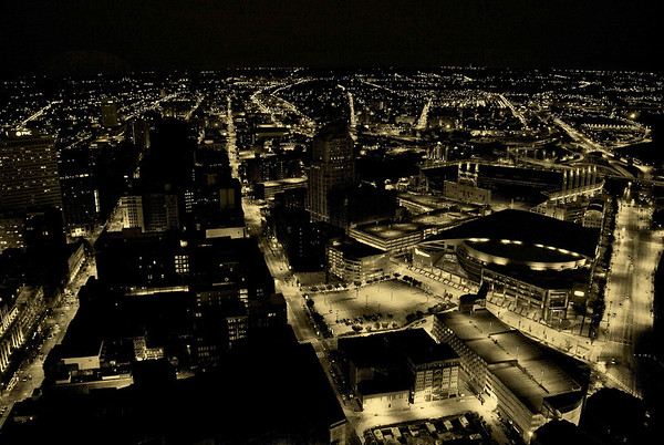 Looking South from Terminal Tower