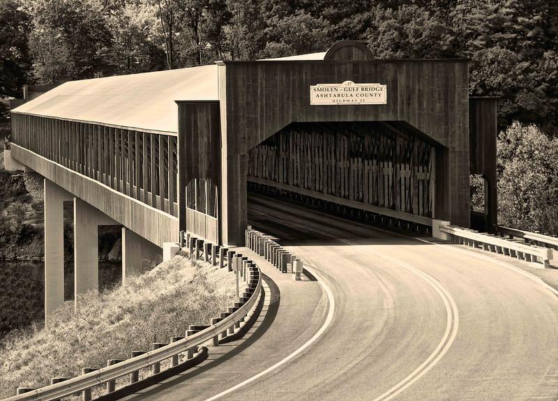 Ashtabula County Covered Bridge