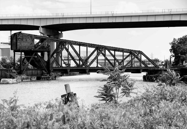 Swivel Bridge in the Flats