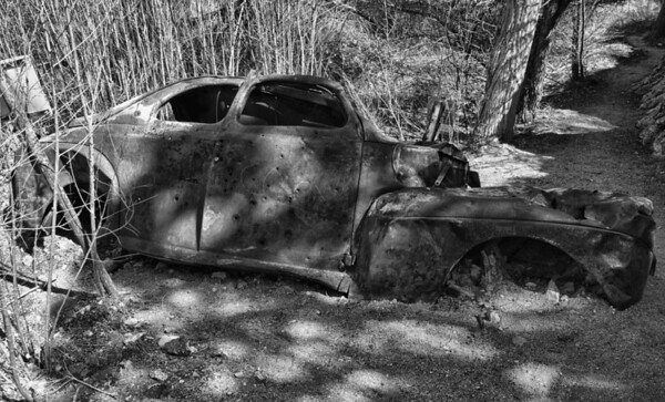Old Wrecked Car