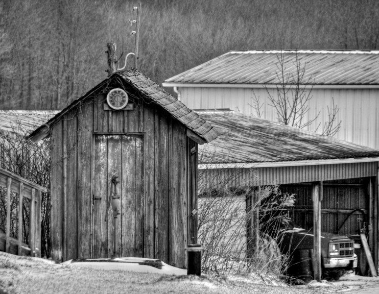 Amish Outhouse