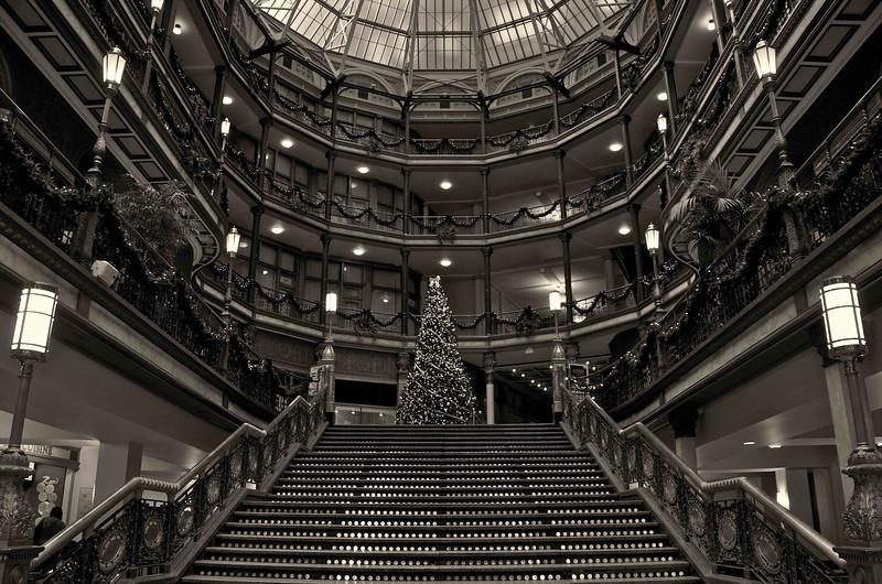 Old Arcade Christmas Tree