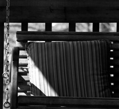 Swing in Spring Sunlight