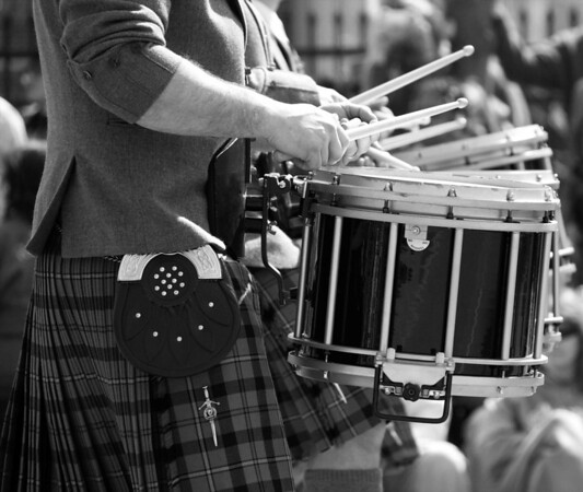 Kilt and Drums