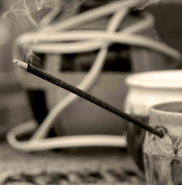 Incense Smoke Trail