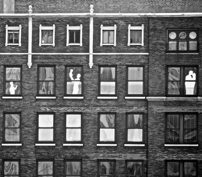 Make Believe People in Windows