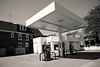 Urban Neighborhood Gas Station