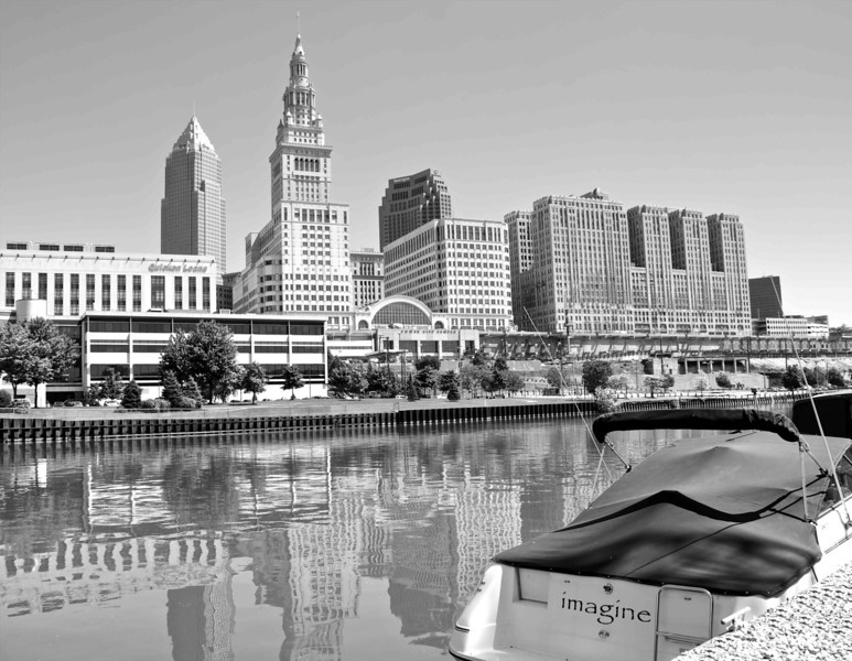 Cleveland Across the Cuyahoga River