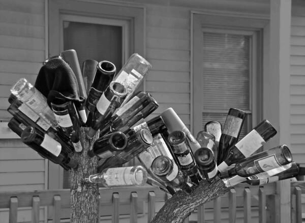 Bottle Art in Tremont