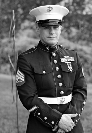 Young Marine Officer