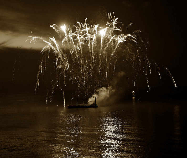 Lake Erie Fireworks