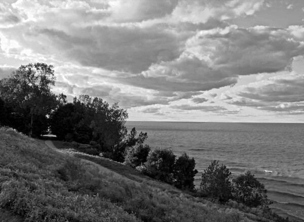 Lake Erie from Edgewater Park