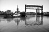 Tug and Barge on the Cuyahoga River