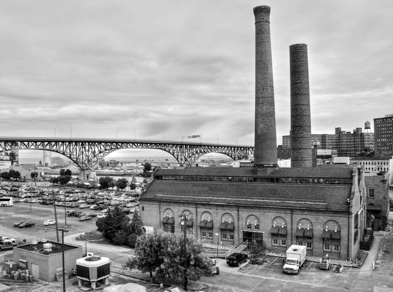 Old Powerhouse in Cleveland Flats