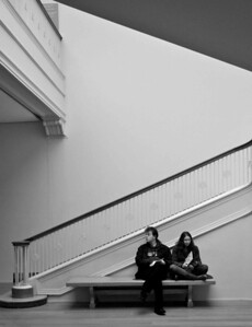 Waiting at Chicago Institute of Art