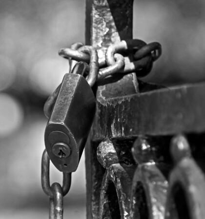 Lock on Gate