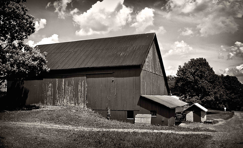 Geauga County Amish Barn