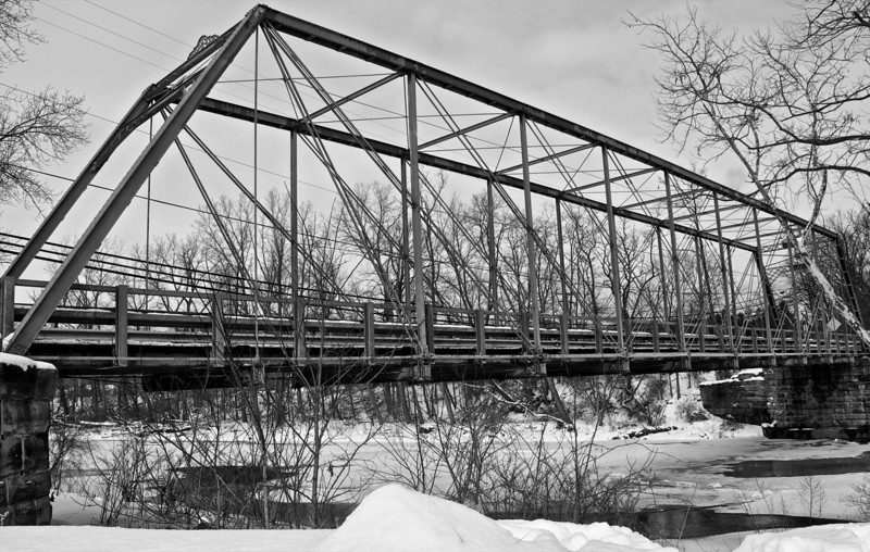 Bridge across the Chagrin River