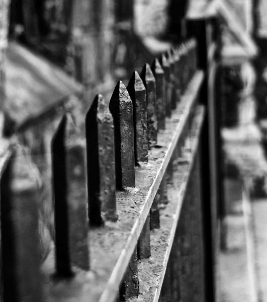 Union Club Wrought Iron Fence