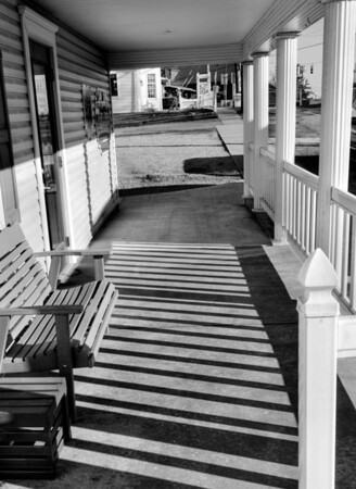 Front Porch in Berlin Ohio