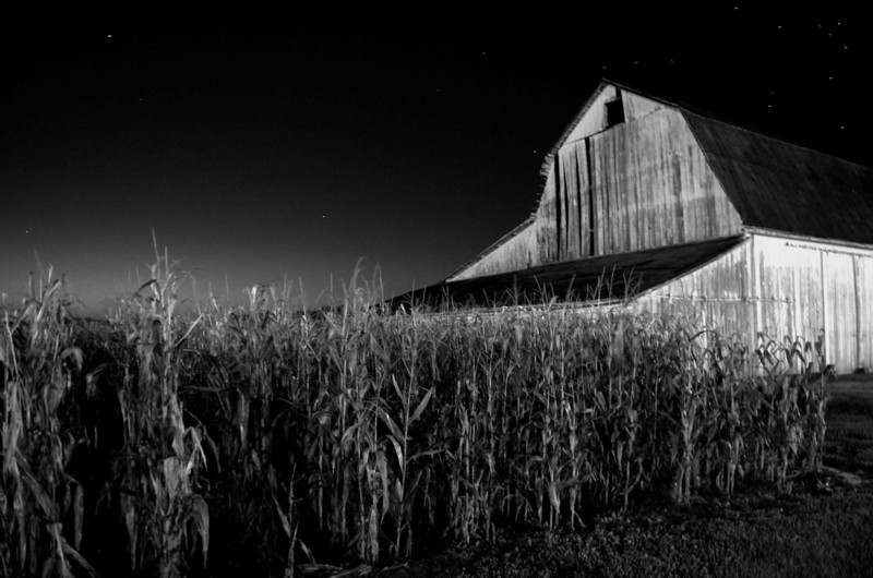 Barn at Nightfall