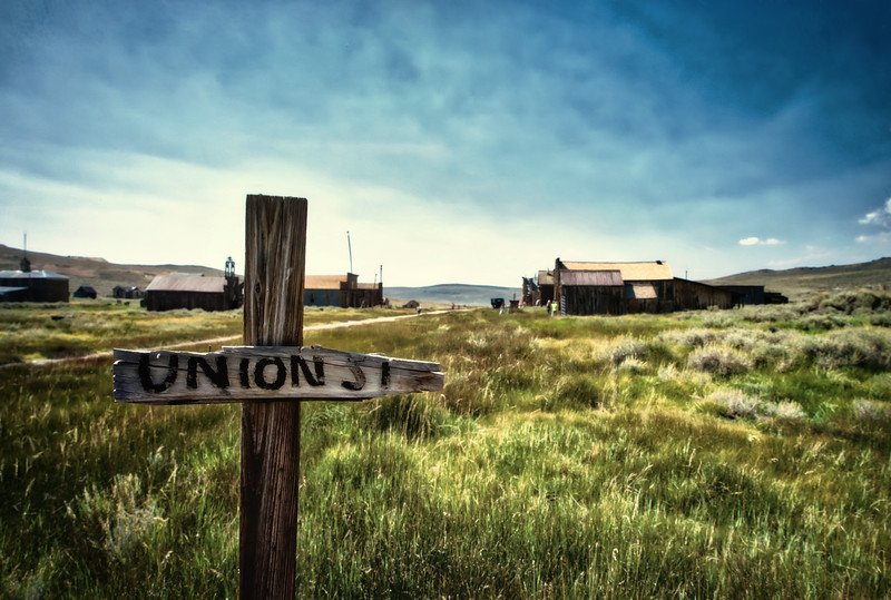 Union and Main, Bodie, CA