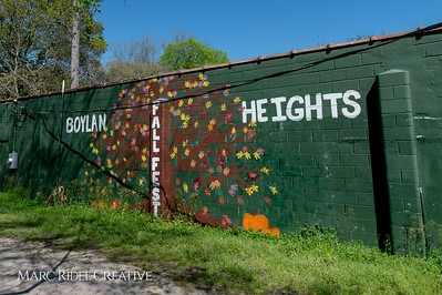 Bright signage around Raleigh. April 5, 2020. D4S_1066