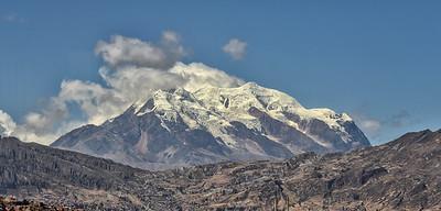 BOL_1458-La Paz Mtn Illimani