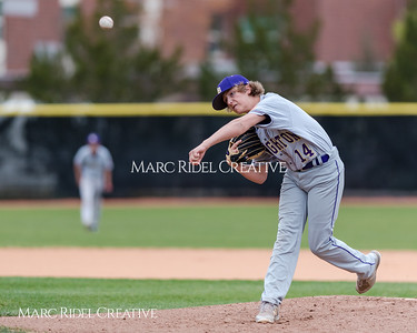 Broughton JV baseball vs. Middle Creek. March 30, 2018.