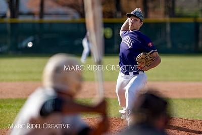 Broughton varsity baseball vs Southeast Raleigh. March 16, 2018.