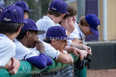 Broughton JV baseball vs Enloe. March 13, 2019. MRC_4208