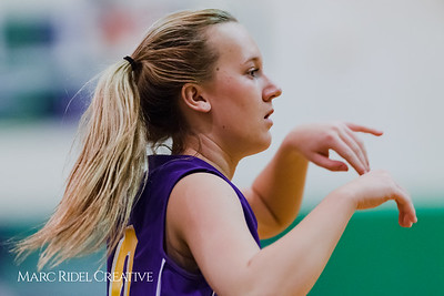 Broughton JV girl's basketball vs Leesville. January 29, 2018.