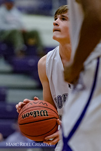 Broughton JV basketball vs Apex. November 20, 2017.