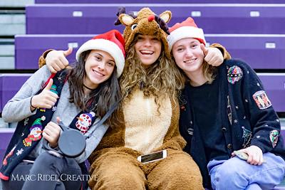 Broughton girls varsity vs Enloe. December 19, 2017.