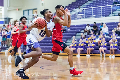 Broughton boy's varsity basketball vs. Jordan. Second round playoffs. February 22, 2018.