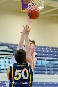 Broughton JV basketball vs. Lee County. December 13, 2017.