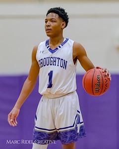 Broughton varsity boy's basketball vs Leesville. January 30, 2018.