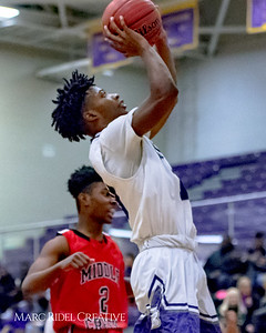 Broughton varsity basketball vs Middle Creek. December 7, 2017.