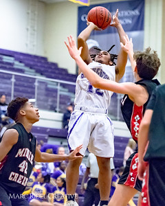 Broughton JV basketball vs Middle Creek. December 7, 2017.