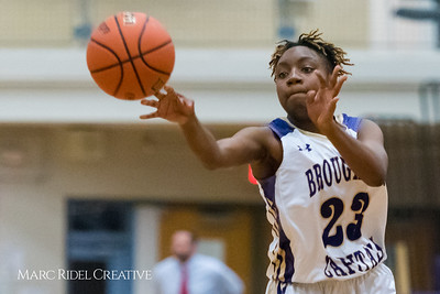 Broughton Varsity Basketball vs Panther Creek. November 13, 2017.