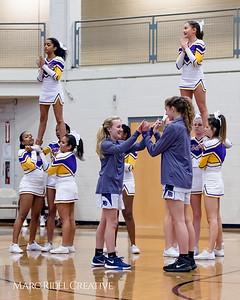 Broughton JV girls basketball vs Sanderson. January 8, 2018.