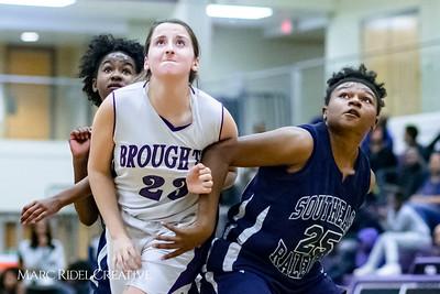 Broughton JV basketball vs. Southeast Raleigh. December 14, 2017.