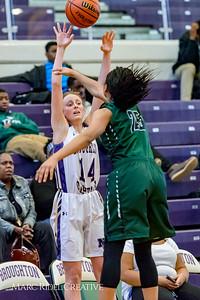 Broughton girl's varsity basketball vs Southeast Raleigh. January 23, 2018.