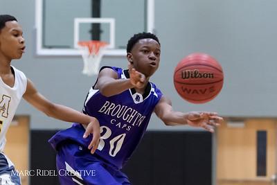 Broughton boys JV basketball vs Apex.  January 28, 2019. 750_8775