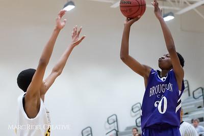 Broughton boys JV basketball vs Apex.  January 28, 2019. 750_8781