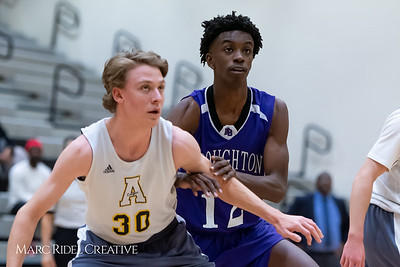 Broughton boys JV basketball vs Apex.  January 28, 2019. 750_8767