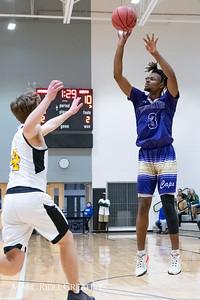 Broughton boys JV basketball vs Apex.  January 28, 2019. MRC_2709