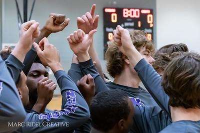 Broughton boys JV basketball vs Apex.  January 28, 2019. MRC_2679