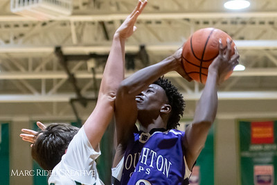 Broughton JV boys basketball vs Cardinal Gibbons. February 7, 2019. MRC_3876