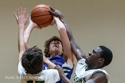 Broughton JV boys basketball vs Cardinal Gibbons. February 7, 2019. 750_3268